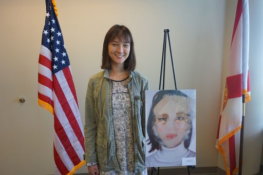 Jessie White '18 Wins the 2018 Congressional Art Competition