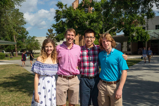 4 Trinity Prep Seniors Win National Merit Scholarships