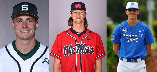 Three TPS Baseball Player Drafted To The MLB