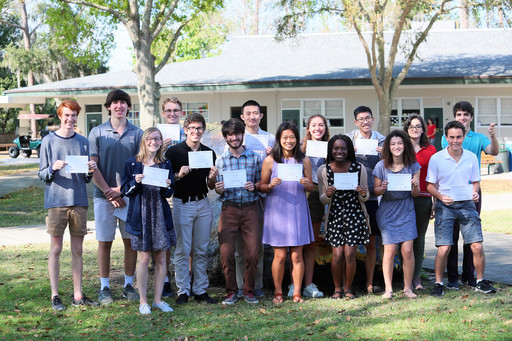 Sixteen Seniors Named Class of 2019 National Merit Finalists