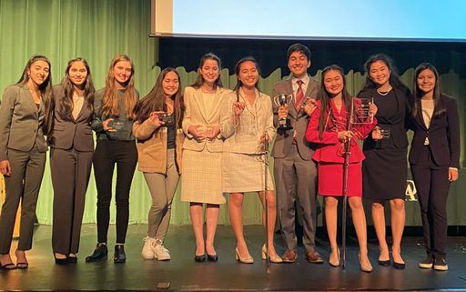 Trinity Prep 2nd Place Overall School at Forensics Tournament